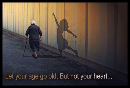 If He Doesnt Try Let Him Go Quotes Quotations Sayings 2019: On The Matter Of Age…growing Old Is Optional